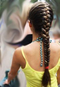 Покраска косички