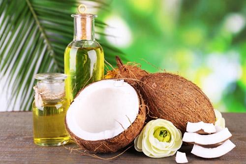 Маска на основе кокосового масла