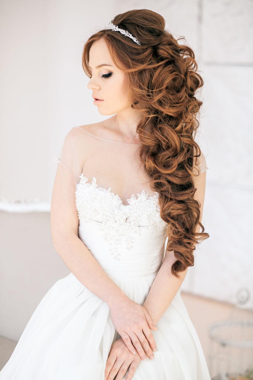 Прически и локоны свадебные и вечерние фото