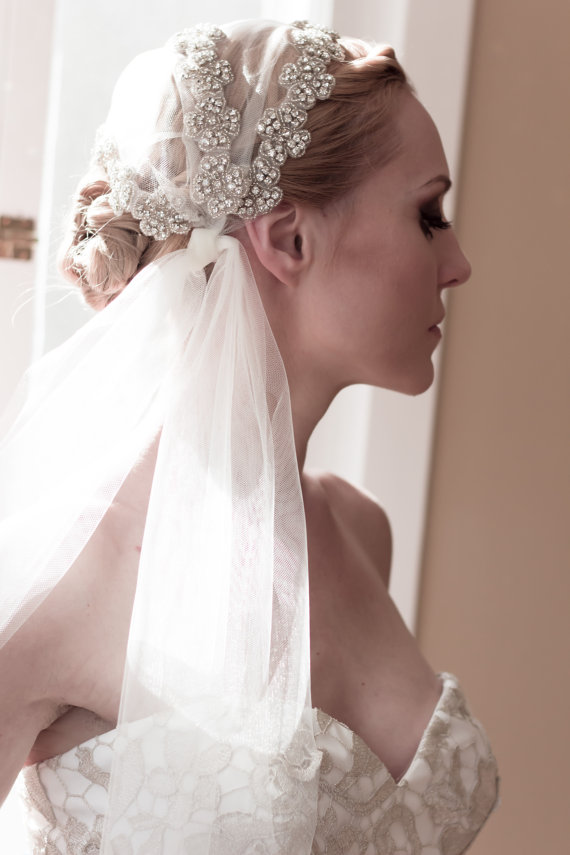 Укладка для невесты под фату