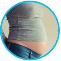 Окрашивание на ранних сроках беременности