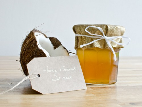 Медовая маска для волос с медом и кокосовым маслом восстановление