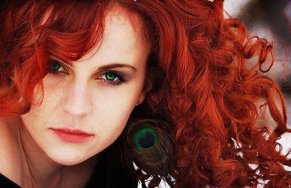 Как выбрать цвет волос по цветотипу осень медь