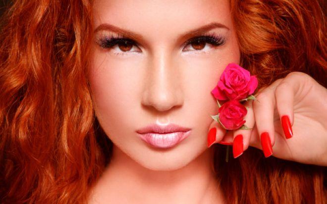 Как выбрать цветотип волос осень с карими глазами