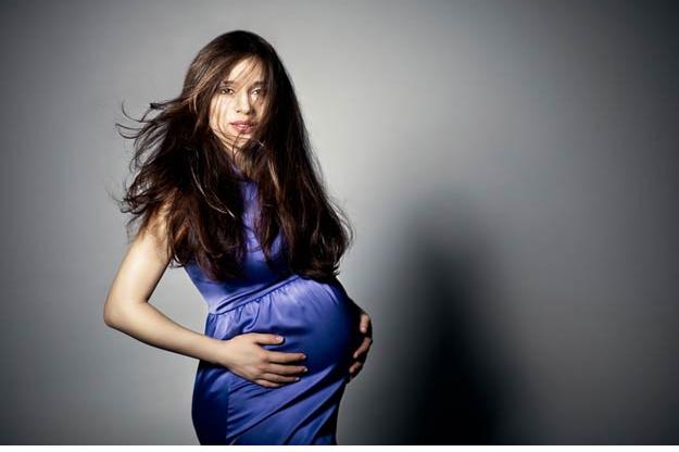 Почему беременных растут волосы