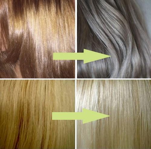 Как избавится от желтизны волос после осветления в домашних условиях