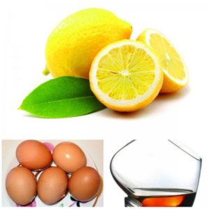 Рецепт осветления волос лимоном, коньяком и кефиром