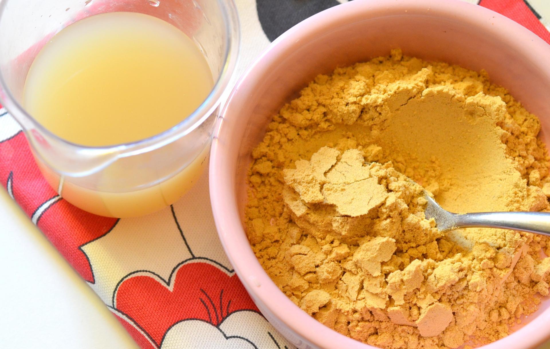 Маска горчицы и лимонного сока для быстрого роста волоса дома
