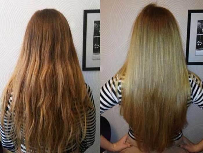 лучшее ламинирование волос
