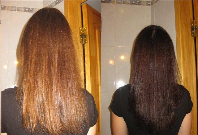 Фото отзывы после окрашивания волос хной