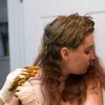 Как покрасить волосы хной
