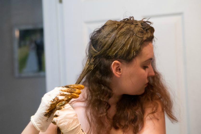 Как хной покрасить волосы в черный цвет в домашних условиях
