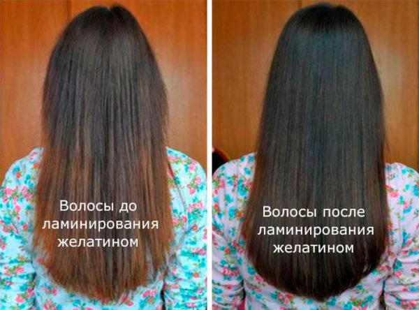 Ламинирование волос как сделать самому