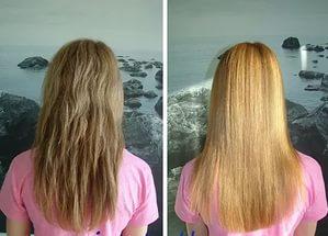 маска для ламинирования волос с желатином фото
