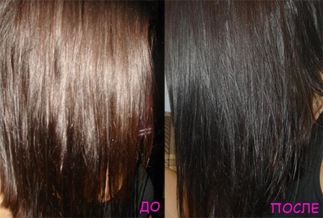 Окрашивание волос хной в шоколадный цвет хной
