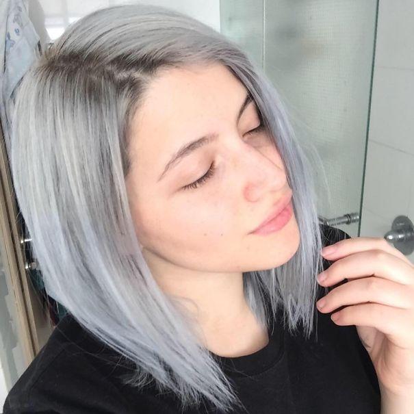 Фото каре в светлом цвете волос