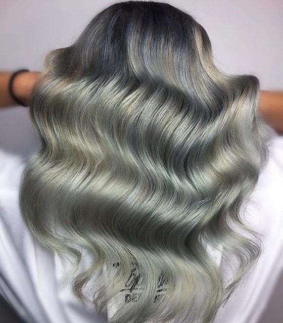 Серебряный блонд фото