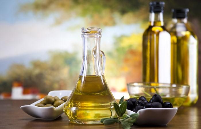 Питательная маска с йогуртом и маслом оливковым