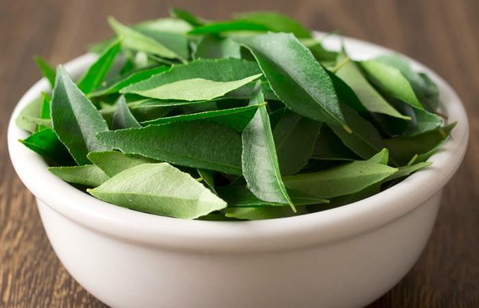 Маска из листьев карри с йогуртом для волос