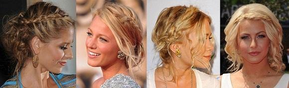 Причёски на тонкие волосы средней длины на свадьбу