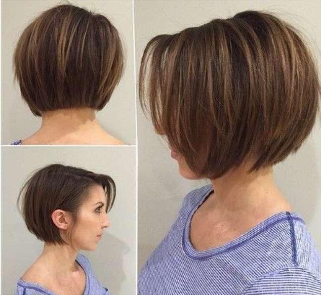 Long pixie bob haircut