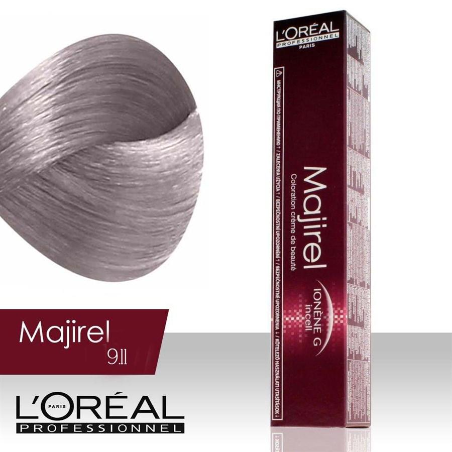 Tintura-Majirel-Cor-9.11 как добться серого цвета волос