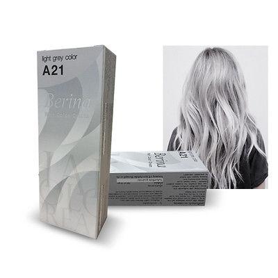 Серый цвет волос берина А21
