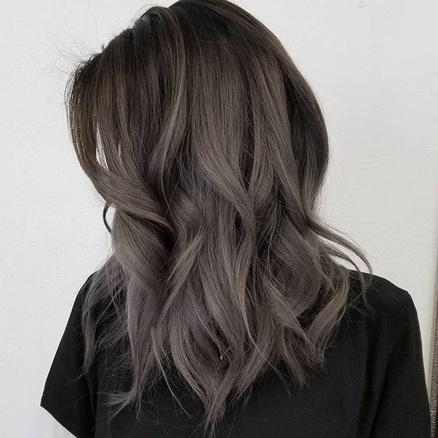 Пепельно-серо-русый цвет волос фото