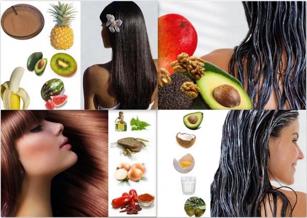 Маски для волос ко всем волосам