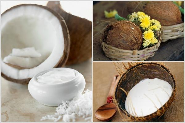 Йогуртово-кокосовая маска