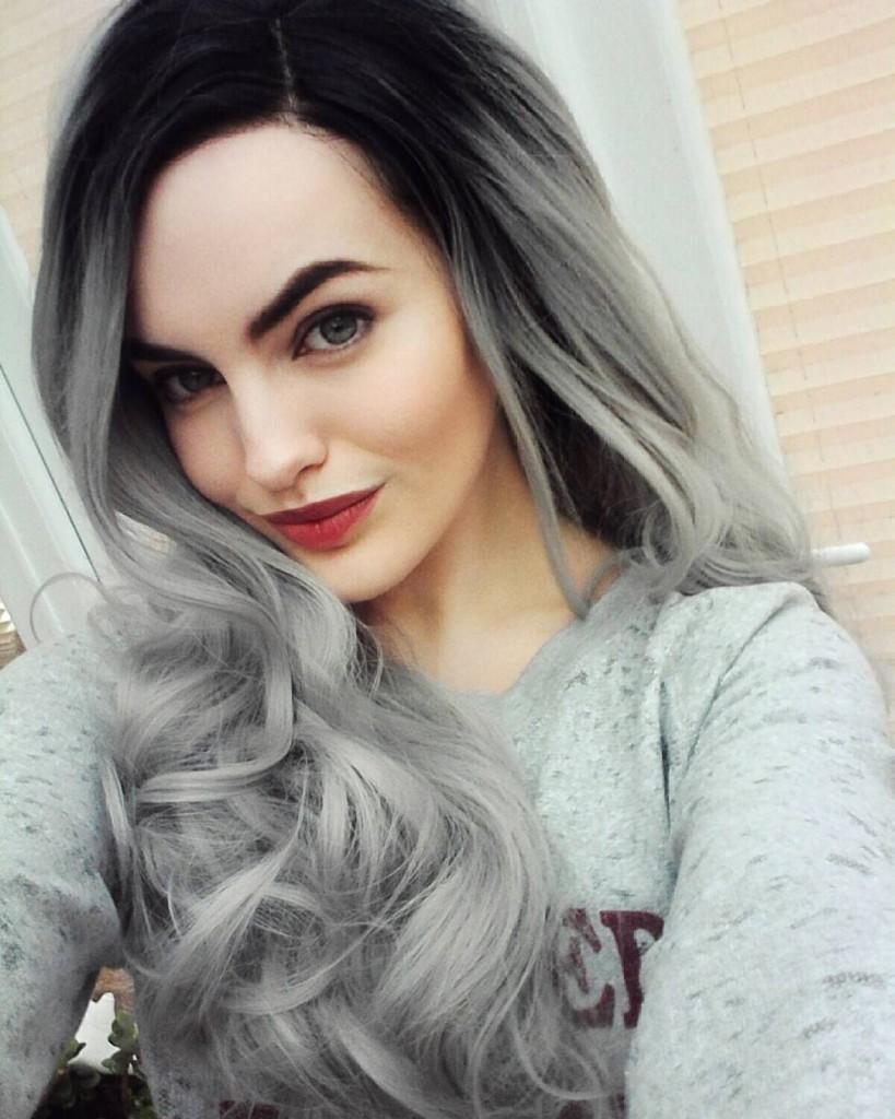 Окрашивание темно пепельного цвета волос