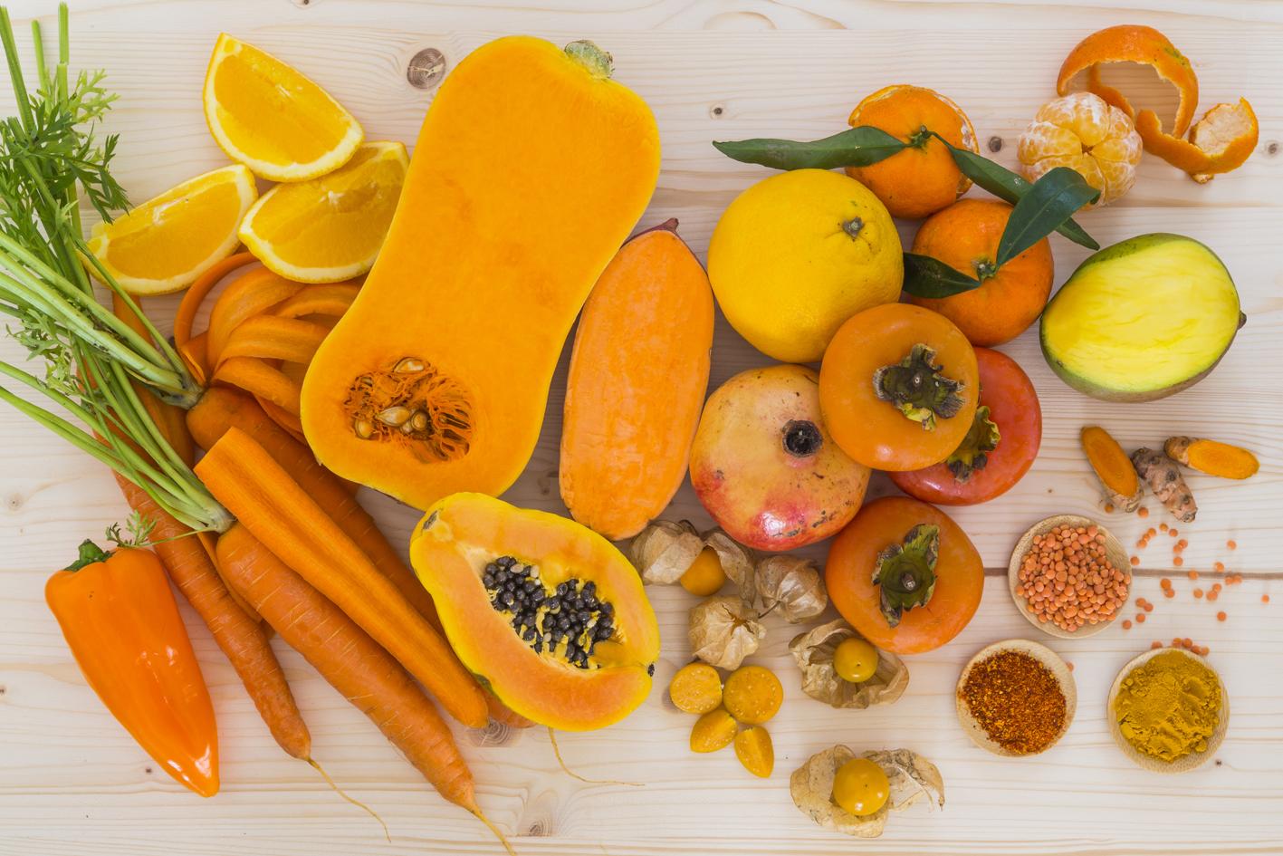 Продукты питания с высоким содержанием витамина А