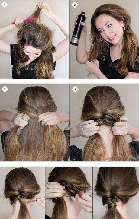 Как самостоятельно сделать прическу с короткими волосами 832