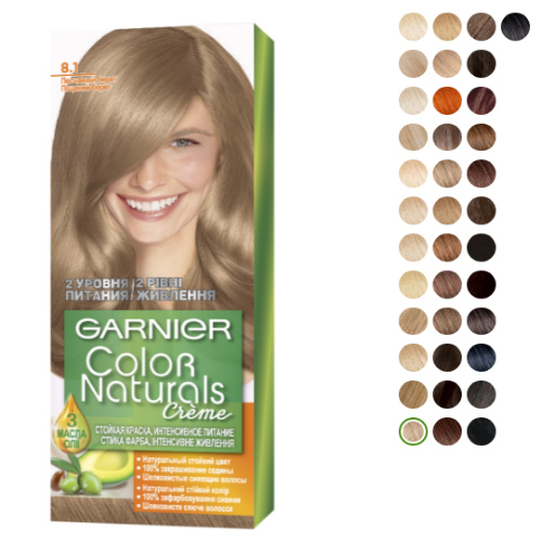Garnier Color Naturals creme 8.1