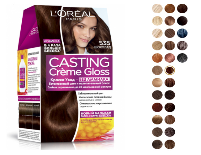 L'Oreal Paris Casting Creme Gloss 535
