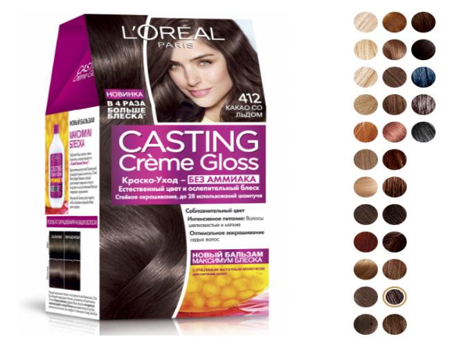 L'Oreal Paris Casting Creme Gloss 412