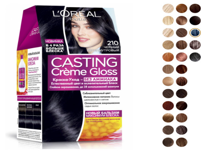 L'Oreal Paris Casting Creme Gloss 210