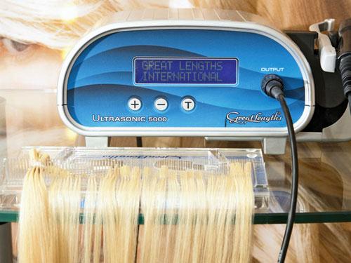 Ультразвуковое наращивание волос фото