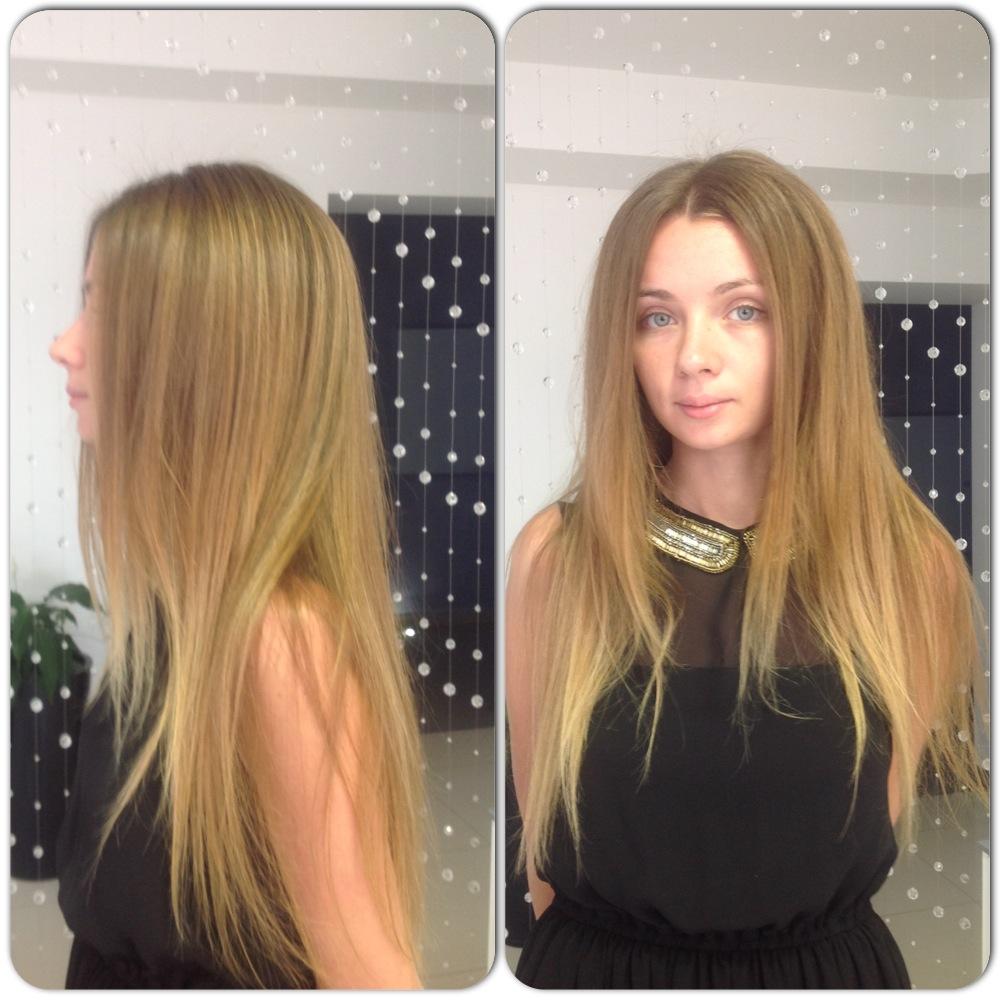 Бууст ап объем на светлых длинных волосах фото