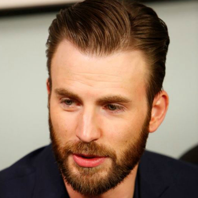 Мужская стрижка с пробором и бородой фото
