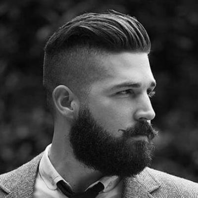 Стрижка андеркат как смотрится с бородой
