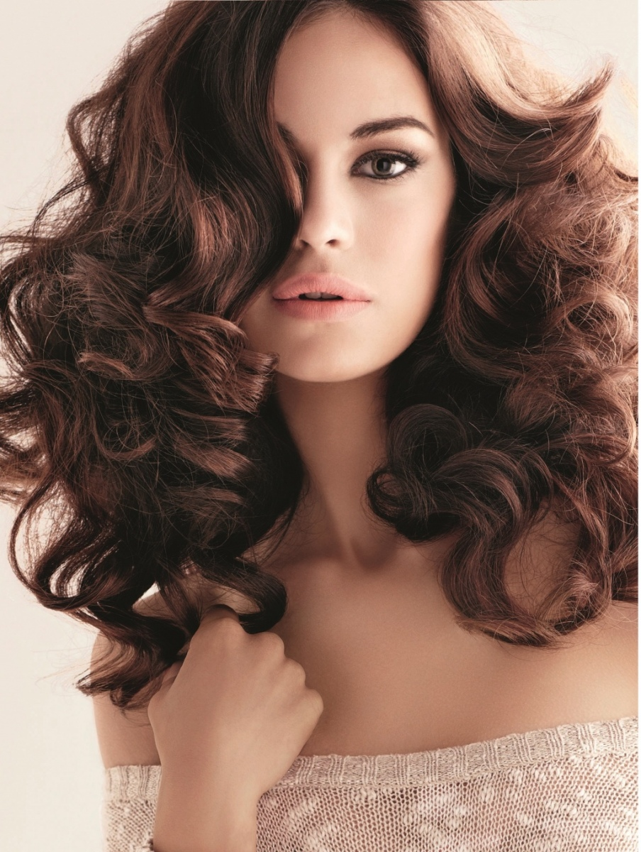 Локоны прическа на тонкие волосы