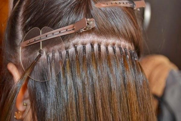 Наращивание волос капсулами итальянская методика