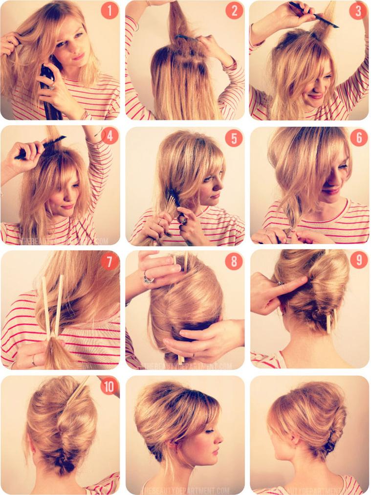 Как сделать ракушку из волос фото