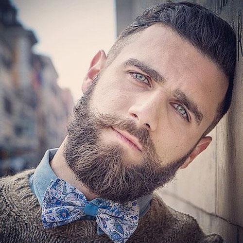 Борода средней длинны фото
